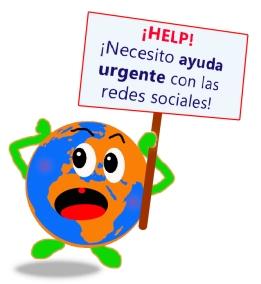 ayuda con las redes sociales twitter facebook linkedin