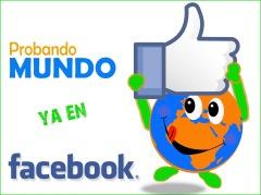 Probando MUNDO en Facebook