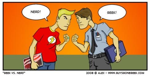 Nerd, Geek o frikis