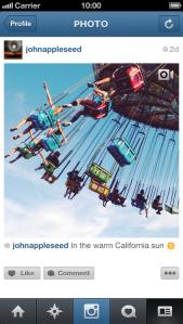 Vídeos en Instagram
