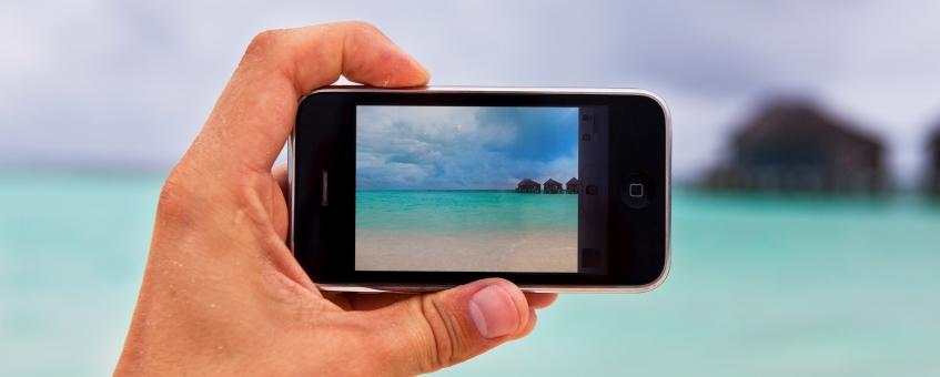 Las redes sociales y vacaciones