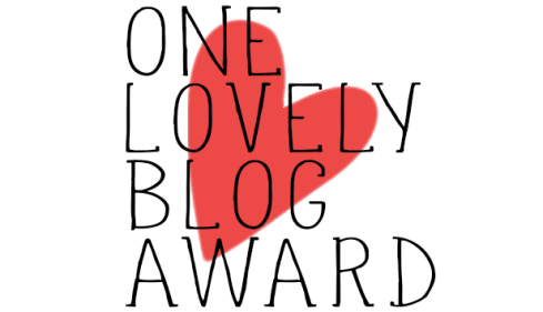 One Blog Lovely Award premio blogueros