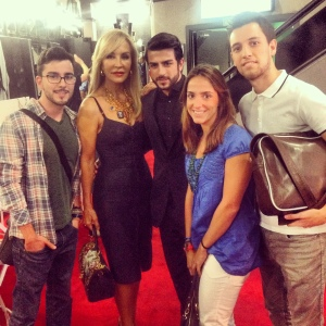 con carmel lomana tweets awards 2013