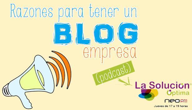 tener blog empresa razones