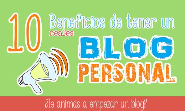 motivos para tener un blog personal branding
