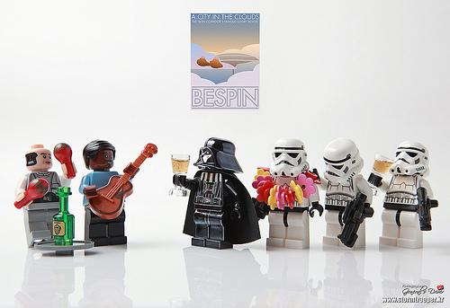 fiesta de celebracion star wars