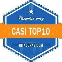 Casi top 10 en bitácoras 2013